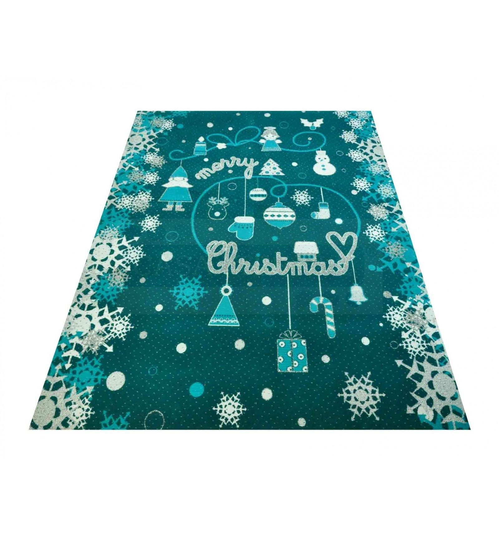 Christmas Carpet Runner.Christmas Cakes And Sweets Carpet Runner 100 X 130 Cm Ve3