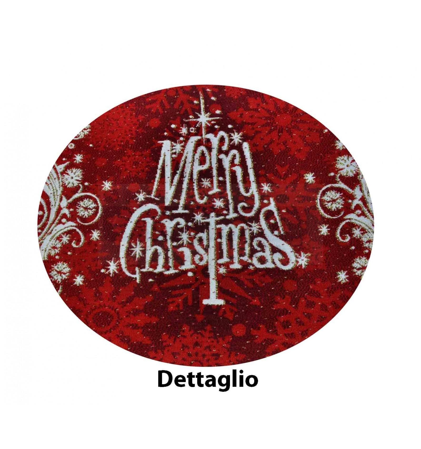 Tappeto-MERRY-CHRISTMAS-passatoia-67x105-cm miniatura 9