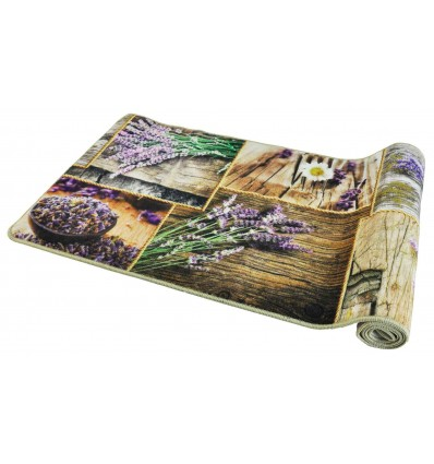 57 cm wide kitchen rug. various sizes GRAFIC LAVANDA