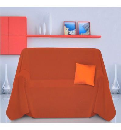 Sahara Tinta Unita Furnishing cloth bedspread 2 260 x 260 cm squares