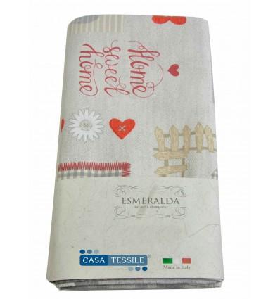 Printed tablecloth round or rectangular MATILDA