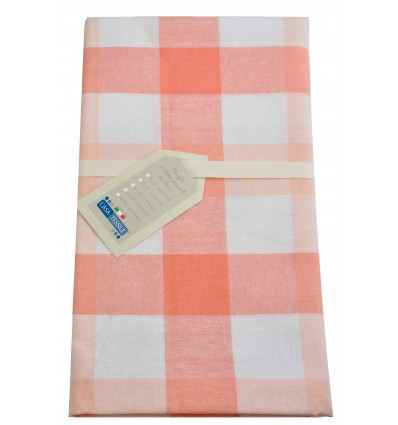 Cotton jacquard tablecloth VICHY