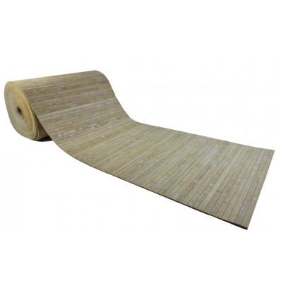 Custom bamboo mat rug
