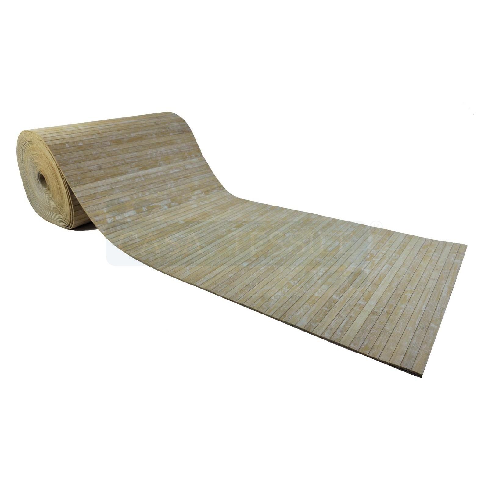 Tapis tapis bambou personnalis casatessile for Tapis de cuisine personnalise