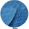 Pure cotton bath rug RICCIOLINO