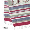 Beach towel fouta 100x200 cm. FISH