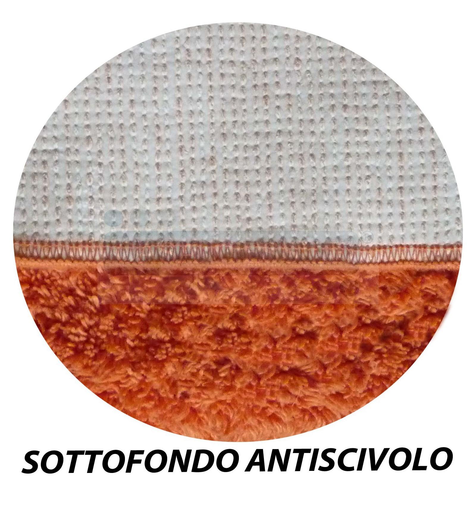 CASA TESSILE Tappeto Bagno Rotondo Tappeto cm 70 Ecru