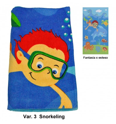 Baby beach towel 70 x 140 cm. CHINDER