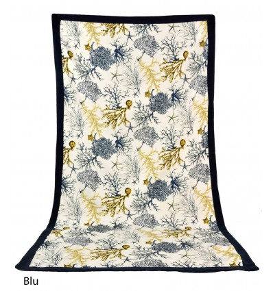 Beach towel microfibre 90x170 cm. CORALLI with edge