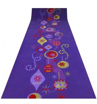 Tappeto viola FESTONI E ADDOBBI passatoia H 100 cm. al metro V2