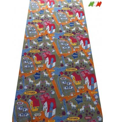 Maßgeschneiderte Gasse Teppiche geschnitten, um H. 200 cm zu leben. FATTORIA