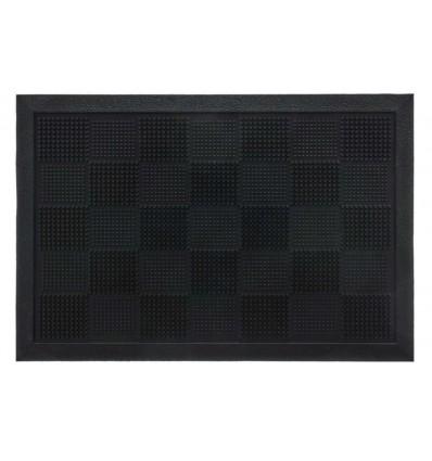 Zerbino rettangolare 40X60 cm. in gomma MILLEPUNTE