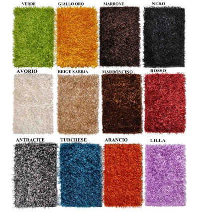 Shaggy carpet cm 60X110