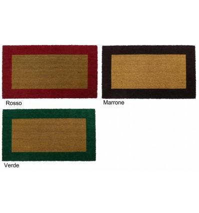 Rectangular doormat in Coconut ECOCO BORDO