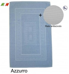 Beige CASA TESSILE Torino Tappeto Bagno in Spugna cm 60X120