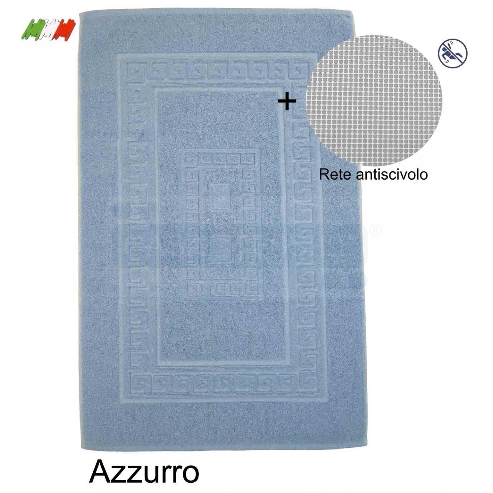 Tappeti Bagno Su Misura Torino tappeto e set da bagno in spugna con rete antiscivolo torino