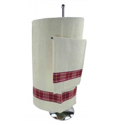 Par de toallas de esponja SCOZZIA