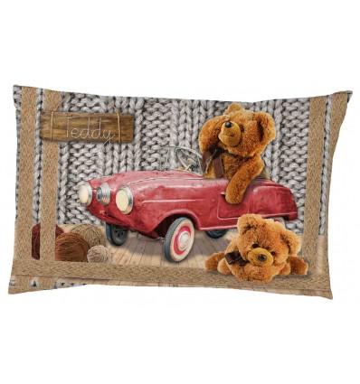 Cotton digital print cover and pillowcase TEDDY DIGITAL