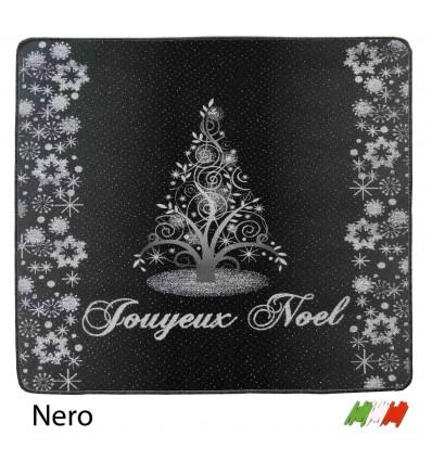Christmas rug resined bordered NOEL