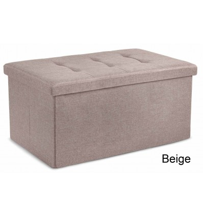 Double LINEN solid container bench bench