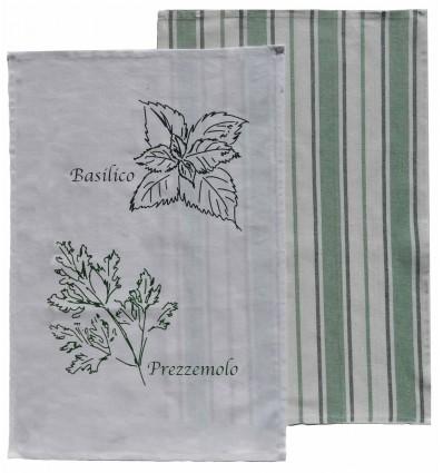 Set of 2 cotton towels 50x70 cm. Silvy