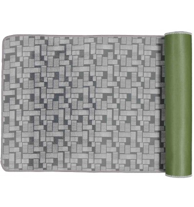 Smooth maze multi-purpose carpet 68 cm wide.
