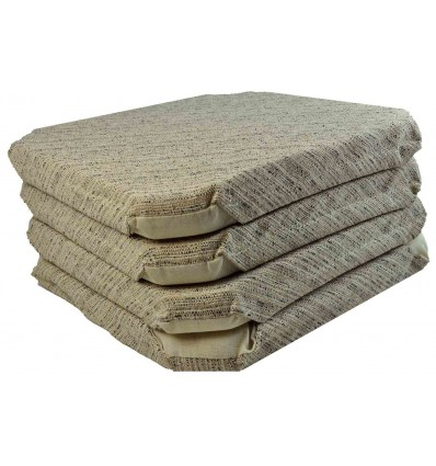 Jacquard Chair cushions with flaps MELANGE