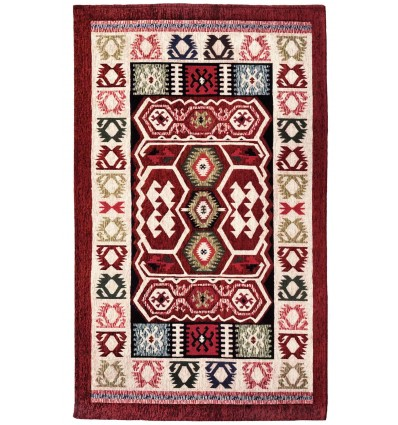 Rug chenille furniture placed KIRY