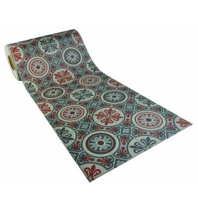 Lagos Boho Chic vinyl carpet per meter