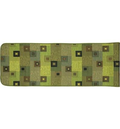 QUADROTTO washable non-slip kitchen rug 52 cm wide.