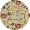 Kitchen sink rug jacquard JAMAICA LUXORY