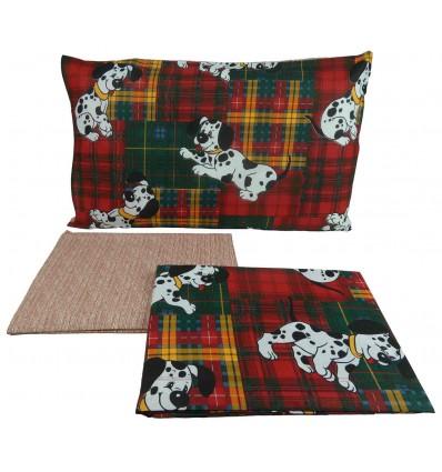 Complete DALMATA cotton sheets
