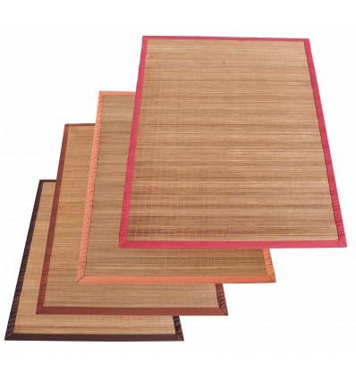 Bamboo Natural tappeto arredo listelli stretti varie misure.