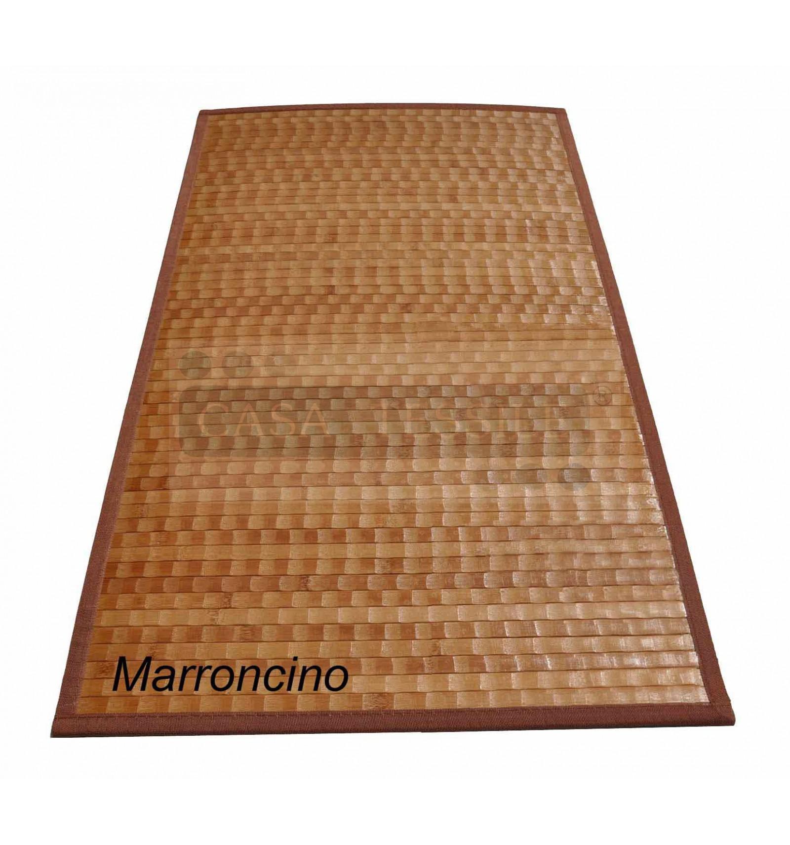 Bamboo tamburato tappeto passatoia cm 200x300 casa tessile - Tappeto 200x300 ...