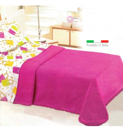 Ciniglia classico Double bedspread 260 x 270 cm