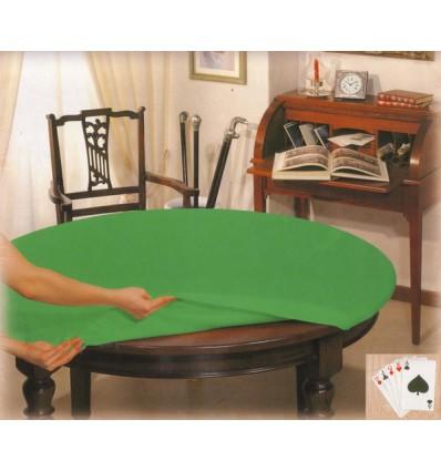 Copritavolo da gioco poker tovaglia ovale cm 140x220 casa tessile - Tovaglia per tavolo ovale ...