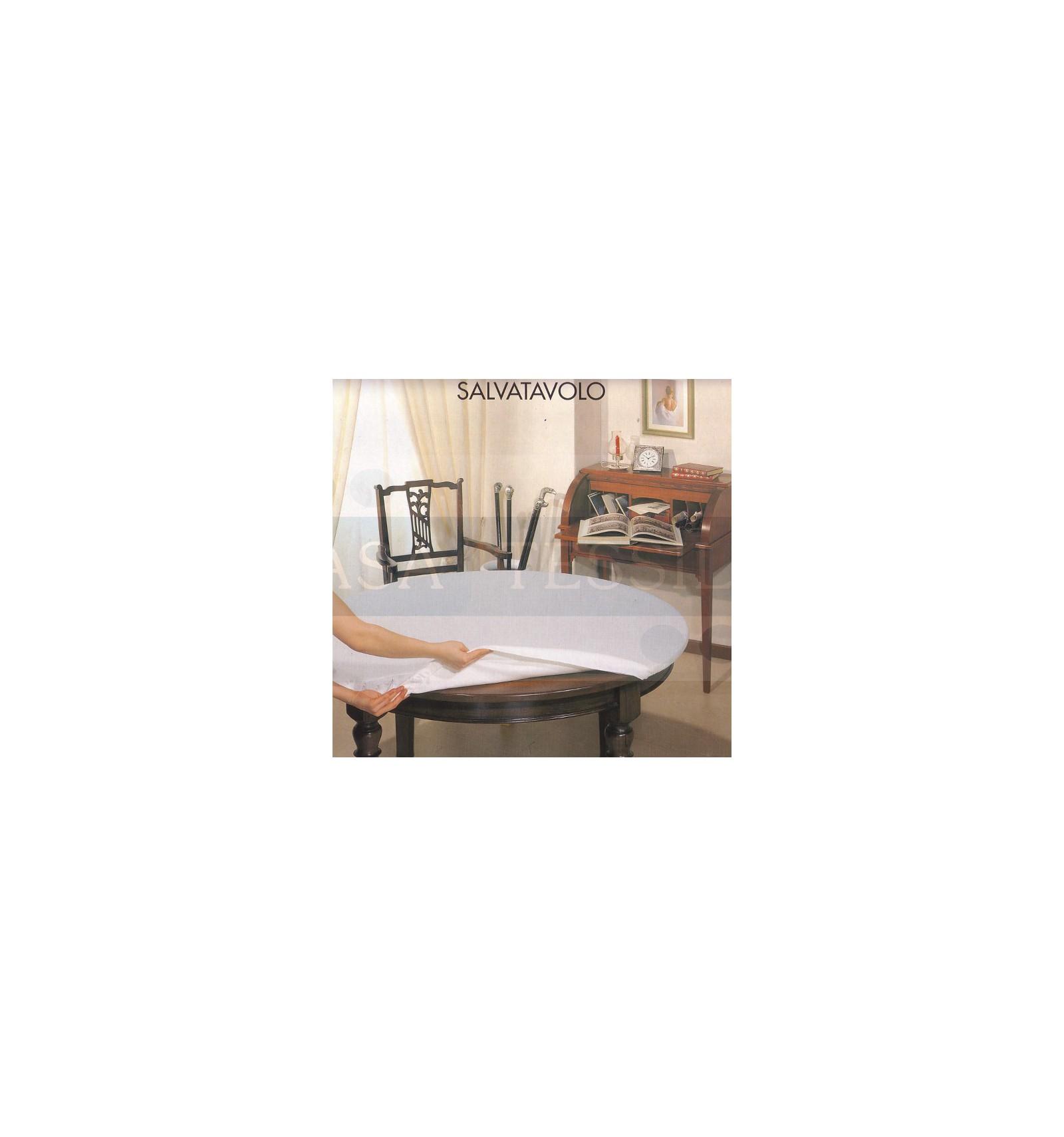 Copritavolo sotto tovaglia ovale cm 140x220 casatessile - Tovaglia per tavolo ovale ...