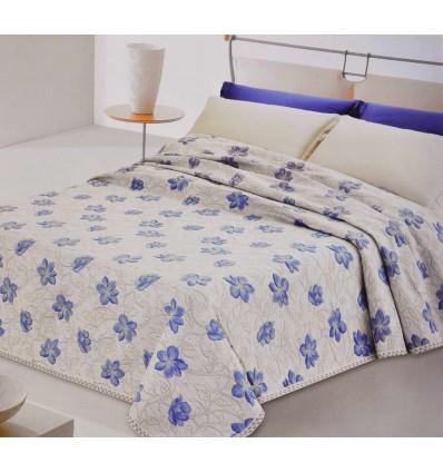 Coral single bedspread cm 180 x 275