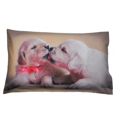 Cagnolini Bed pillow pillowcase photographic print