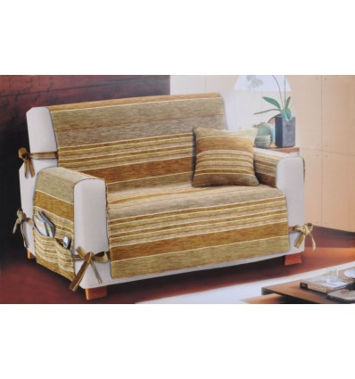 2 seater settee Cover Lebandes cm 110 with pockets