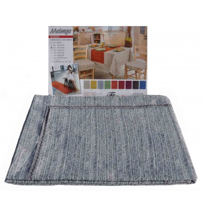 Melange jacquard 8 seater tablecloth table cover 140X220 cm.
