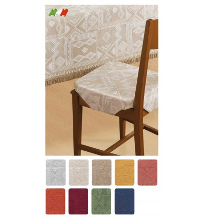 Mexico Cover for Chair with cushion 40 x 40 cm fins