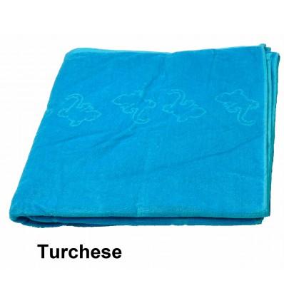 *Geko M Solid colour cotton Terry towels maxi cm150x175 cm.