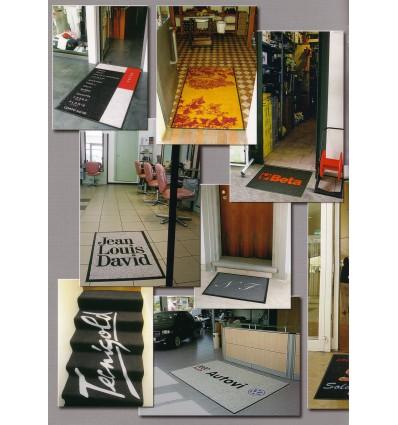 Mylogo Personalized doormat cm 115X240