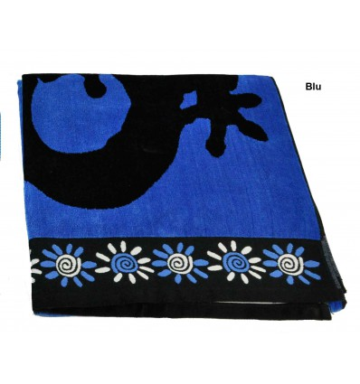New Geko double New Geko double Terry beach towel 90x170 cm.