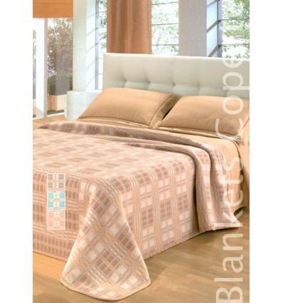 Scotland coperta misto lana 1 piazza e mezza 180x220 cm.