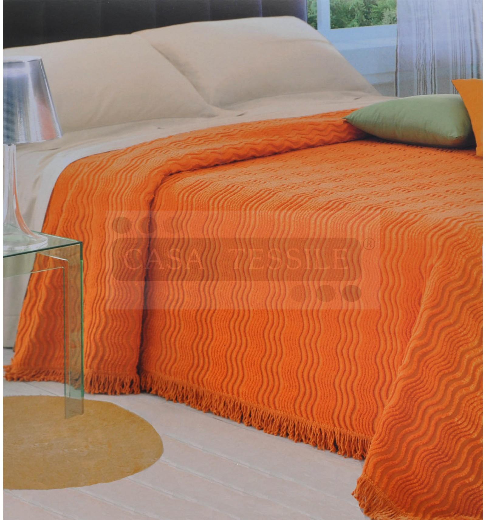 Slalom ciniglia copriletto matrimoniale cm 260x270 casa tessile - Copriletto matrimoniale rosso ...