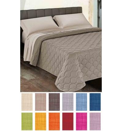 Arcobaleno 1 cm square quilt 170X260