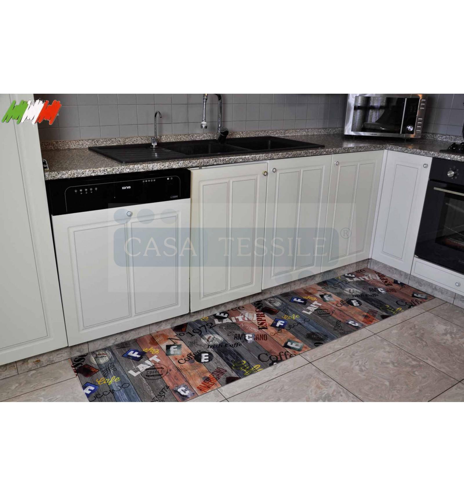 Vintage impresi n digital a cortar cocina alfombra - Alfombra de cocina ...