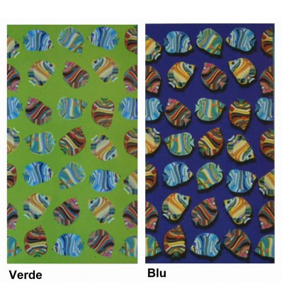 *Pesci Vitamina Telo mare microfibra 90x170 cm.